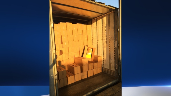 10,000 Pounds of Marijuana Found Hidden Behind Boxes of Barbie Toys