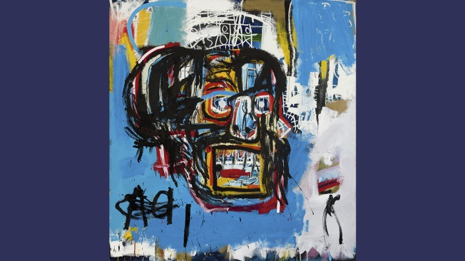 Basquiat painting fetches record $110.5 million at NY auction