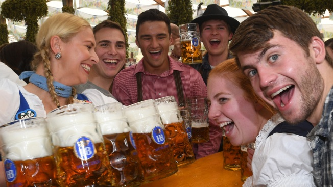 Beer Flows as Overcrowded Oktoberfest Opens in Munich