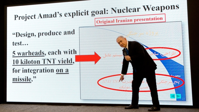 Israel Says Documents Prove Iran Lied About Nuclear Program