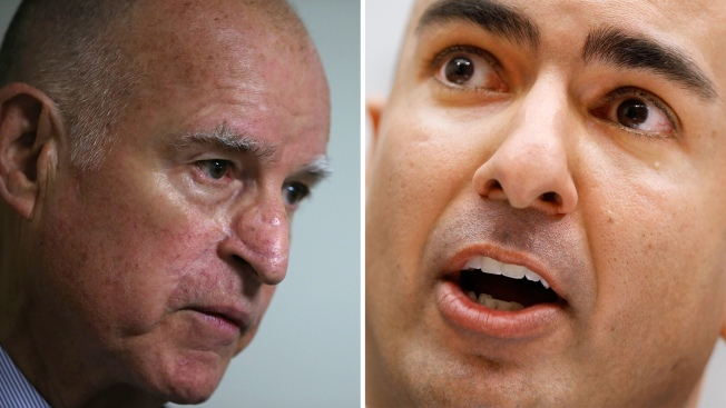 Kashkari, Brown Make Final Push Before Election Day