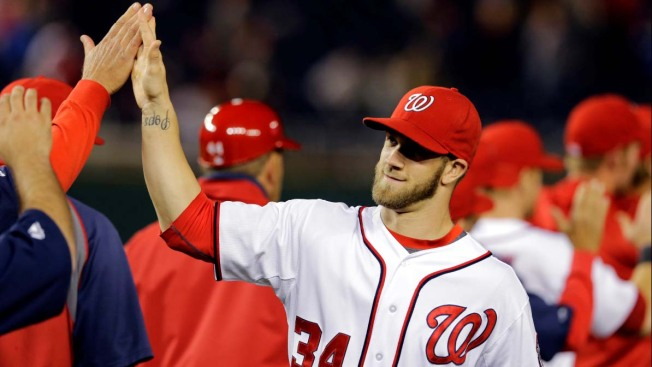 Dodgers Face Baseball Behemoth in Washington Nationals' Bryce Harper