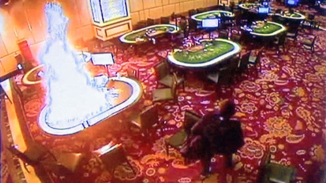 Philippine police questioning driver in casino attack probe