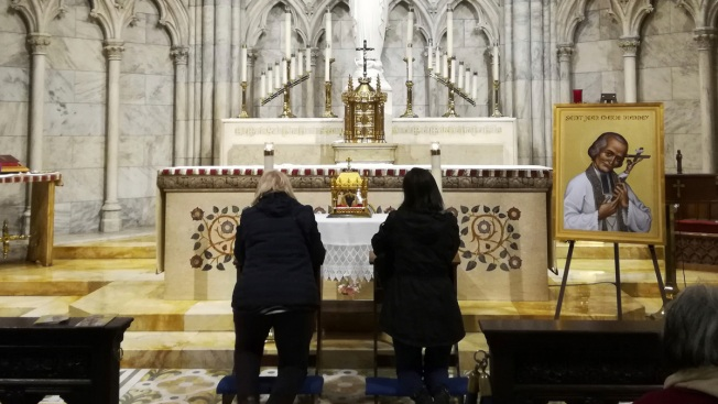 French Priest's 150-Year-Old Heart Being Venerated in NYC