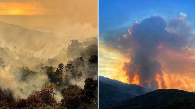 [NATL-LA] Photos: 'Cave Fire' Forces Evacuations in Santa Barbara County