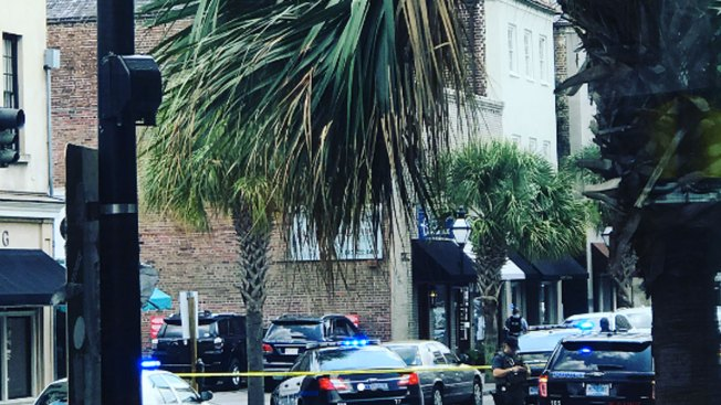 Charleston hostage situation over; gunman wounded