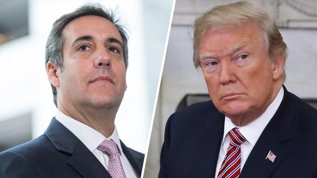 Trump's Cohen Comments Raise Questions About Relationship