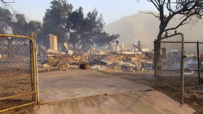 More Than 100 Buildings Destroyed by Creek Fire; Blaze Reaches 80% Containment