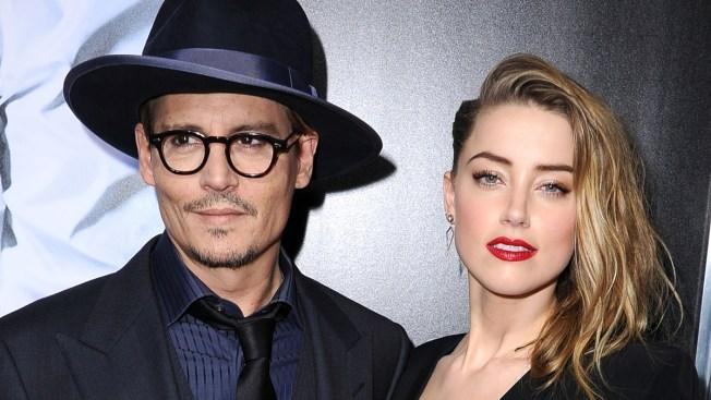 "Johnny Depp Gushes Over Amber Heard, Talks Engagement: She's ""Very Good For Me"""