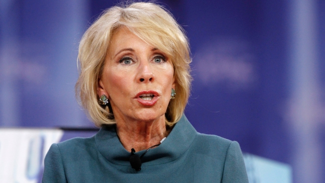 US Marshals Service Spending Millions on DeVos Security in Unusual Arrangement