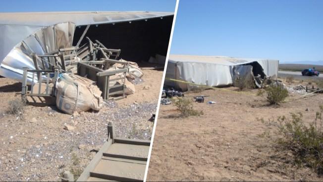 Truck Spills $800,000 in Dimes Across Nevada Highway