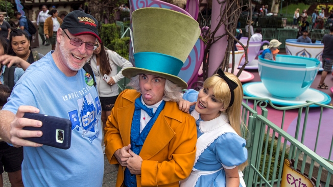 OC Man Visits Disneyland for 2000th Consecutive Day