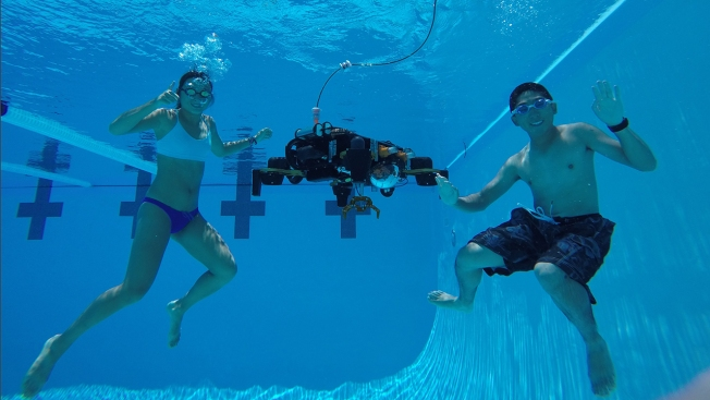 Caltech Team Puts Underwater Robot to the Test