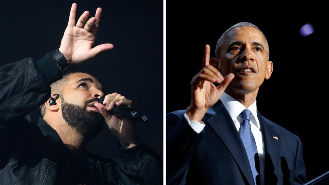 Drake Pays Tribute to Obama by Sharing Face Mashup Meme