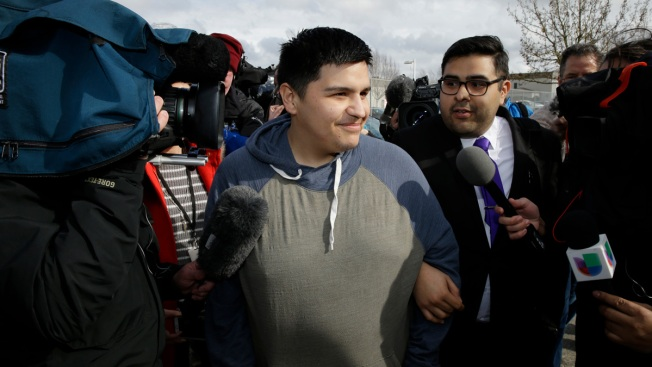 'Dreamer' reunites with family, says he's hopeful for future