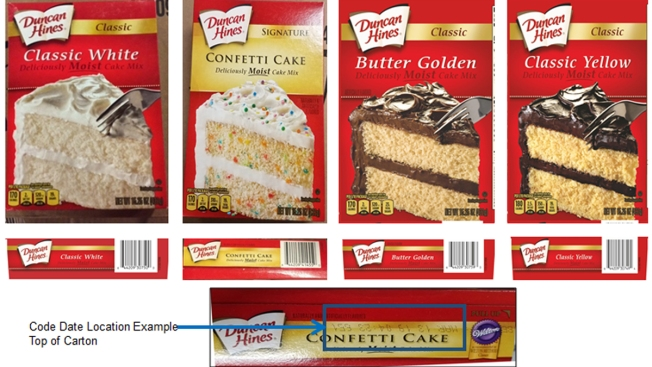 Some Duncan Hines Cake Mixes Recalled Over Salmonella Concerns