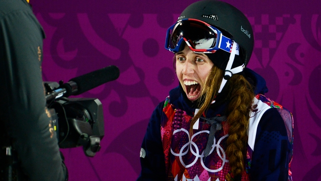 USA's Maddie Bowman Wins First-Ever Women's Freeski Halfpipe Gold