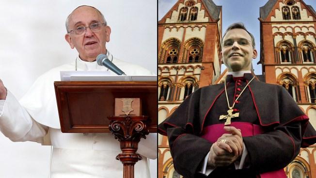 """Pope Francis Cracks Down on German """"Bishop of Bling"""""""