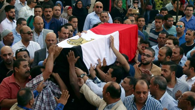 Egyptian Officials Say 54 Police Killed in Egypt Attack