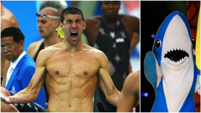 Michael Phelps Defends Shark Week 'Race' Against Great White