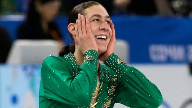 "Jason Brown Talks Future Olympics: ""I Want That Gold"""