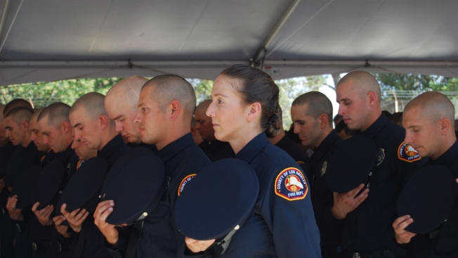 LA County Fire Department Vows to Recruit More Women