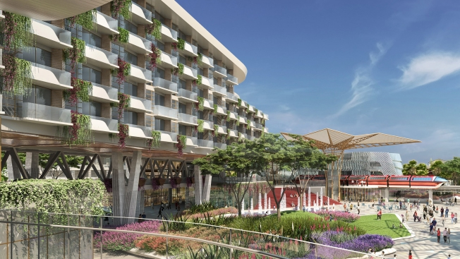 Photos: Disneyland Unveils New Four Diamonds Hotel