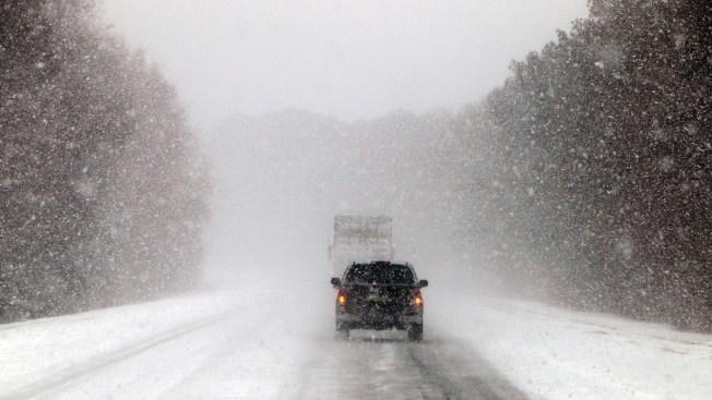 Snow and Ice Coat South, Closing Freeways, Runways, Schools