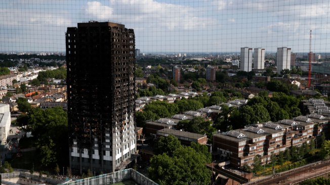 US Maker of Panels in London Fire: Others Install Them
