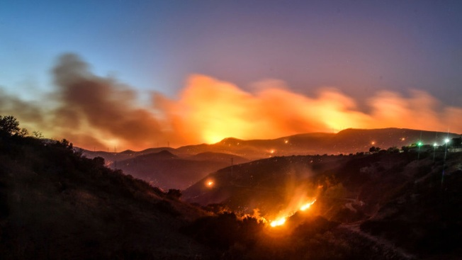 hill fire was caused by human activity nbc southern california