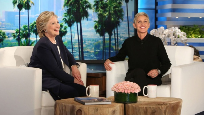 Hillary Clinton revives debate shimmy dance move for 'Ellen'