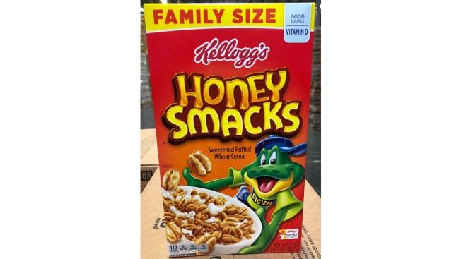 FDA Says Honey Smacks Still Being Sold Despite Salmonella Link, Recall