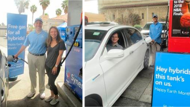 Free Gas Alert Here S Where Hybrid Car Drivers Can Get 10 Days Of