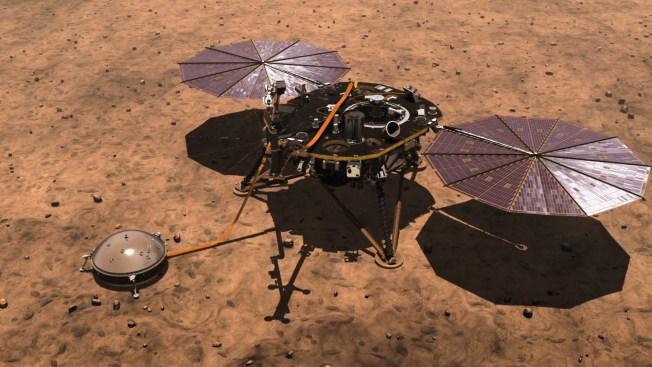 nasa insight landing on mars live - photo #10