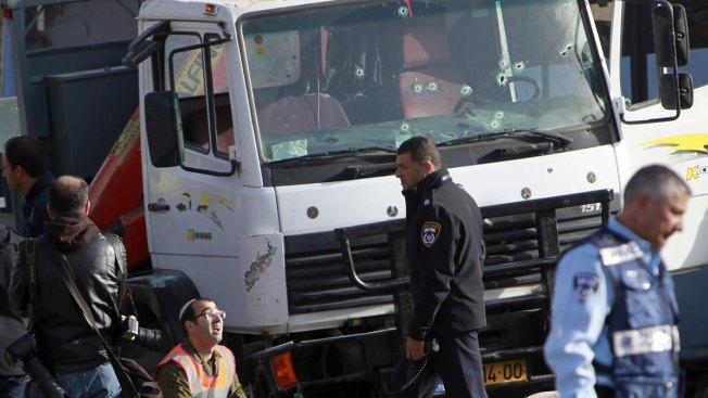 Israel Police: Palestinian Truck Attack Kills 4 in Jerusalem