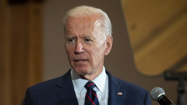 Biden Discusses Climate Change at Hancock Park Fundraiser