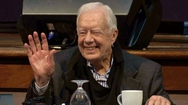 Jimmy Carter Out of Hospital After Rehydration: Spokeswoman