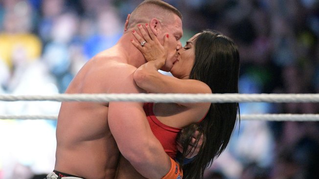 Watch John Cena Propose to Nikki Bella at Wrestlemania 33 Last Night