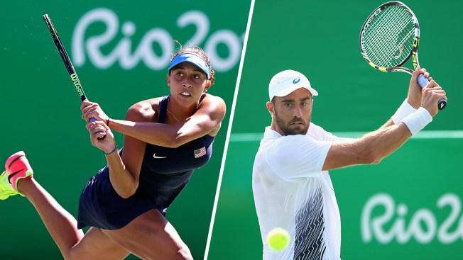 Americans Venus Williams, Keys, Johnson Advance in Olympic Tennis