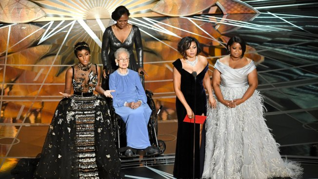 Former NASA Mathematician, 98, Gets Moment at Oscars