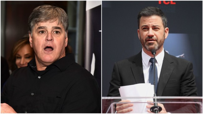 War of Words Between Sean Hannity and Jimmy Kimmel Takes Ugly Turn