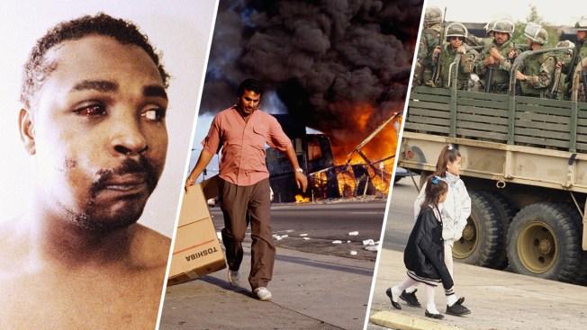 Dramatic Photos of the 1992 LA Riots