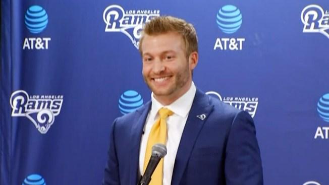 Rams Introduce Sean McVay as Head Coach