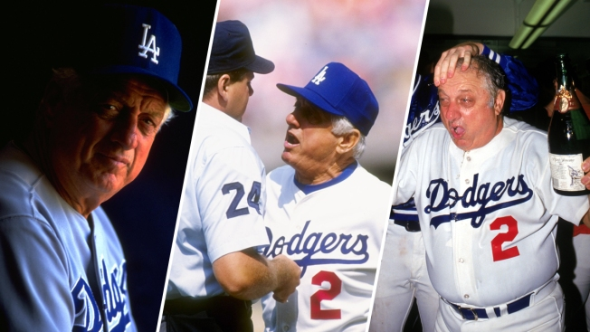 Lasorda recovering after surgery