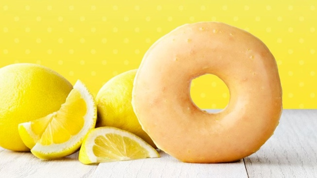 Krispy Kreme's Lemon Glaze Is Back (for a Few Days)