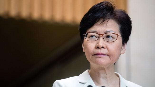 Hong Kong Leader Refuses to Give Ground Despite Poll Setback
