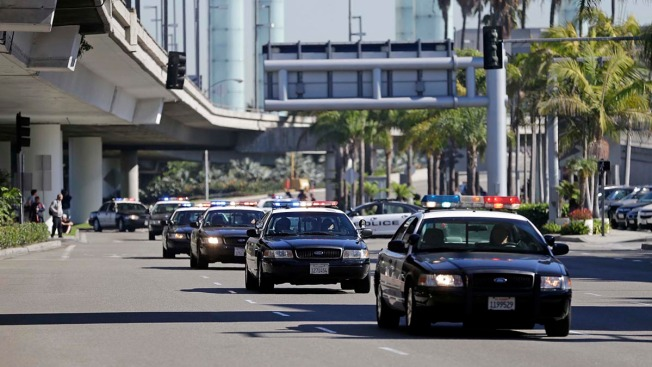 LAX Gunfire Came While Officers Were on Break: Officials