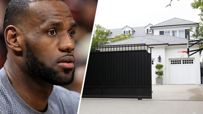 7dd0dc4e4  Racism Will Always Be a Part of the World   LeBron James Reacts to Racist  Graffiti on His LA Mansion