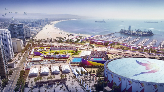 How the 2024 Olympics Could Show Off LA's Natural Beauty