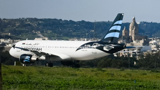 Plane Hijacking in Malta Ends Peacefully; 2 Men Surrender